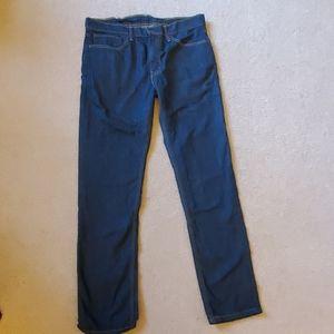 Levi's 511 Men's 36x34 Slim Fit Blue Denim Jeans